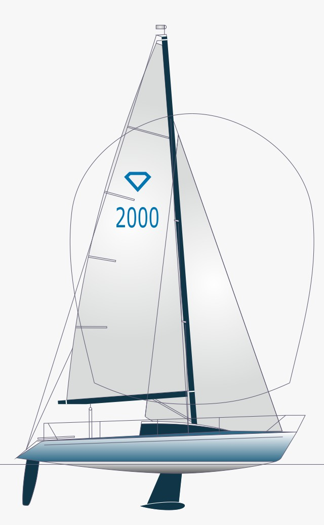 Diamant 2000 Segelriss